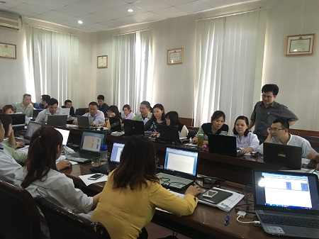 Lớp học Tin học văn phòng tại Trung tâm tin học MS HCM